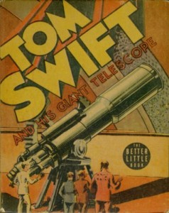 Tom Swift book cover