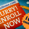 WriteAtHome.com, Hurry enroll now!