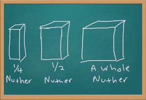 Illustration of a whole nuther