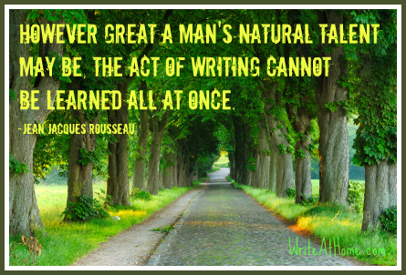 Natural Talent Quote Forest Path