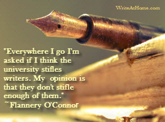 Flannery O'Connor Quote