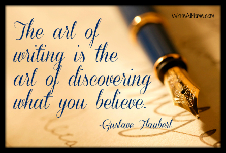 Writing Quote by Flaubert