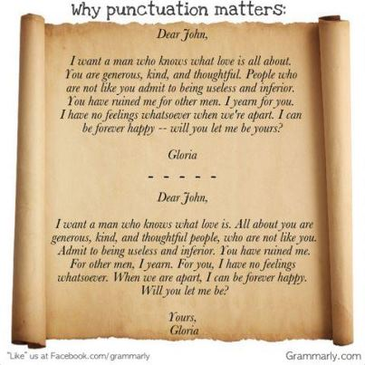 dear john letter punctuation - photo #1