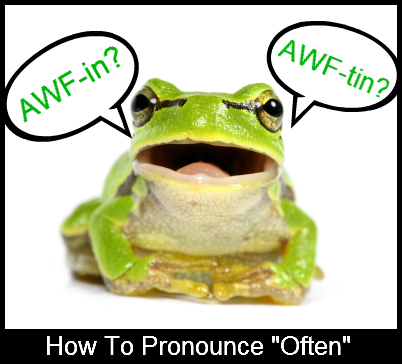 Frog Pronouncing Often
