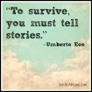 The Importance of Tellling Stories