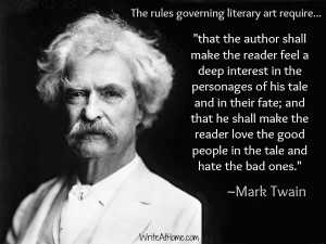 Mark Twain on Writing