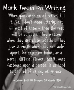 Mark Twain on Writing 2