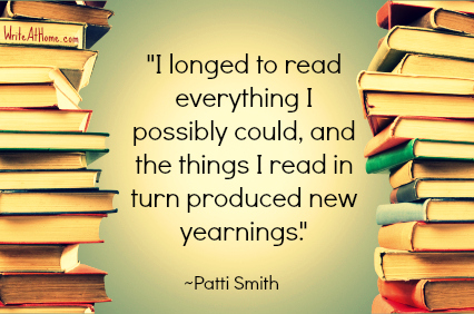 Patti Smith Quote on Reading