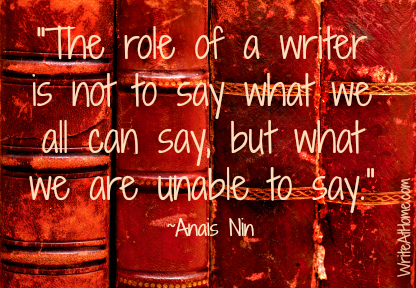 Role of a Writer