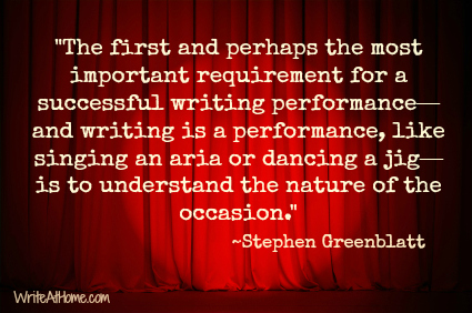 Stephen Greenblatt quote