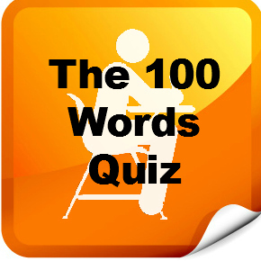 the 100 Words Quiz