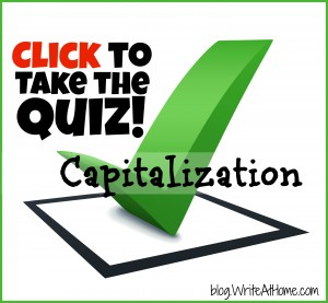 Take the Capitalization Quiz!