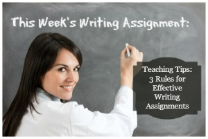 Creating Writing Assignments
