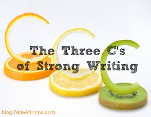 The Three Cs of Strong Writing
