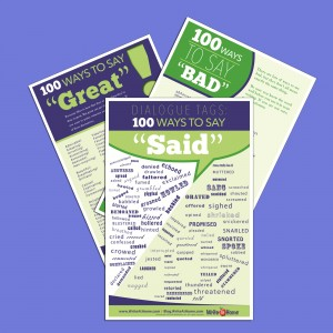 "WriteAtHome ""Ways to Say"" Posters"