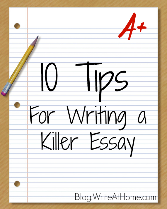 pointers on how to write an essay This is a hard essay to write it's probably much more personal than any of the papers you have written for class the writing center.